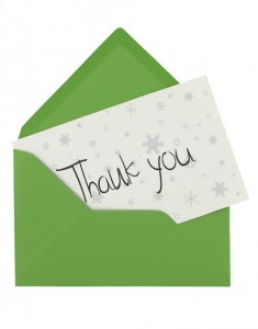 4 Reasons to Use Thank You Cards