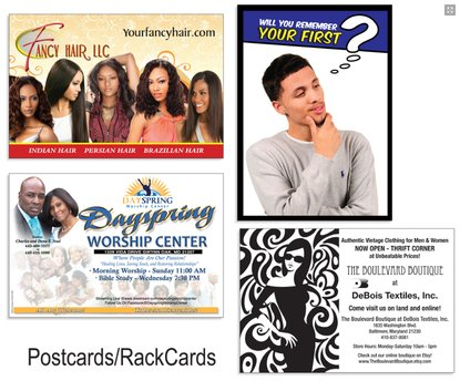 rack cards baltimore