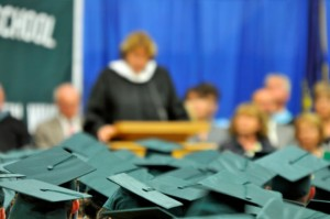 Photo: School graduation ceremony